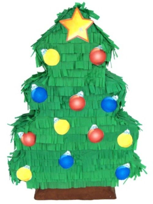 Pinata Christmas Tree Xmas Festive Seasonal Nativity
