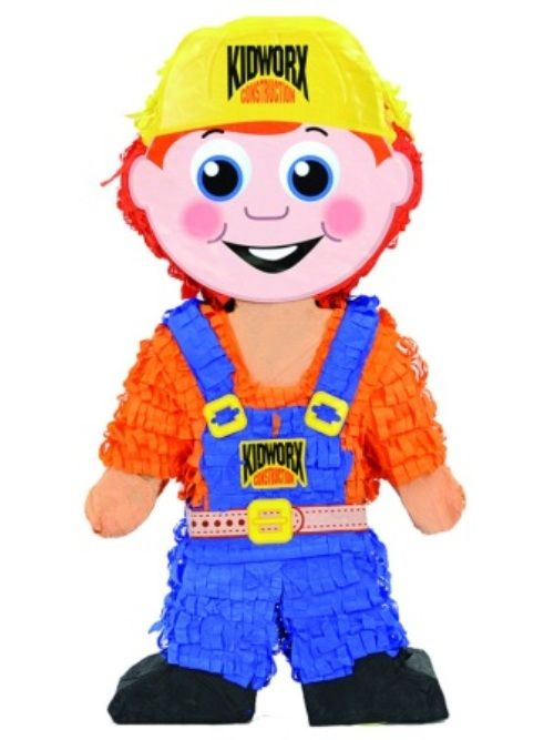 Pinata Construction Worker Workman Mechanic