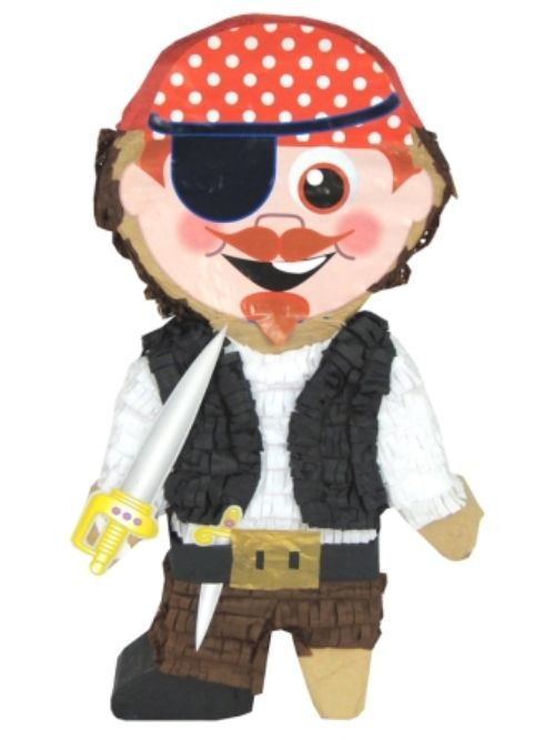 Pinata Pirate Boy High Seas Buccaneer Hijacker Sailor