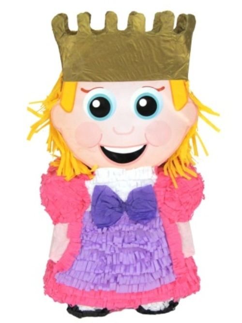 Pinata Princess Beautiful Story Book Royal Regal Hero