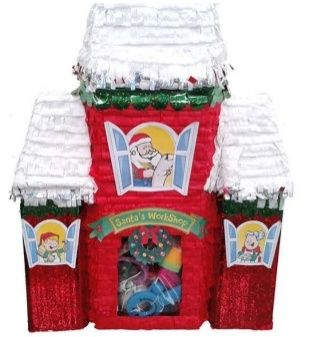 "Pinata Santa's Workshop 20"" Premier Christmas Festive Seasonal Holidays"