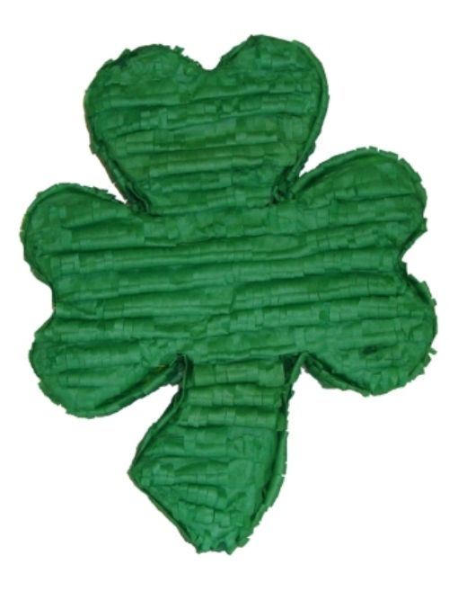 Pinata Shamrock Leaf Lucky Irish St Saint patricks Day