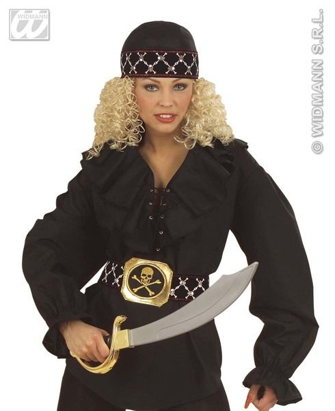 Pirate Bandana Deluxe Hat High Seas Buccaneer Hijacker Sailor Fancy Dress