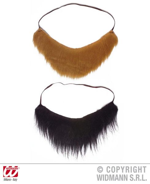 Pirate Beard 2 Colours High Seas Buccaneer Hijacker Sailor Fancy Dress