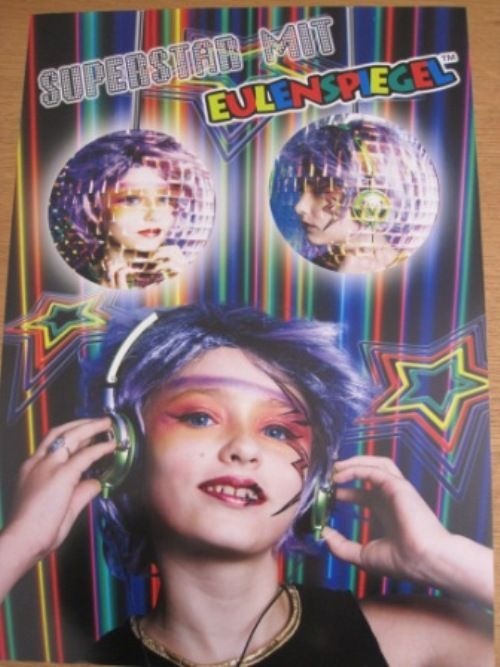 Poster Pop Star Music Disco 80s DJ Decoration