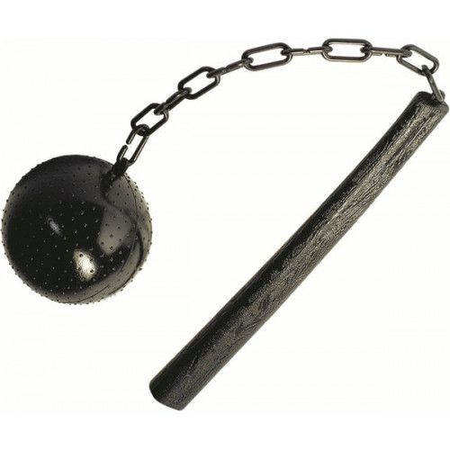 Prop Ball & Stick on chain Medieval Mace Historic ancient Middle Ages