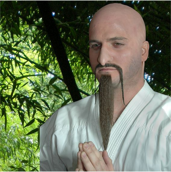 Prosthetic Nose Zen Master School Head Teacher