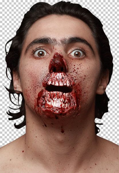 Prosthetic SFX Makeup Wounds Meat Lover Halloween