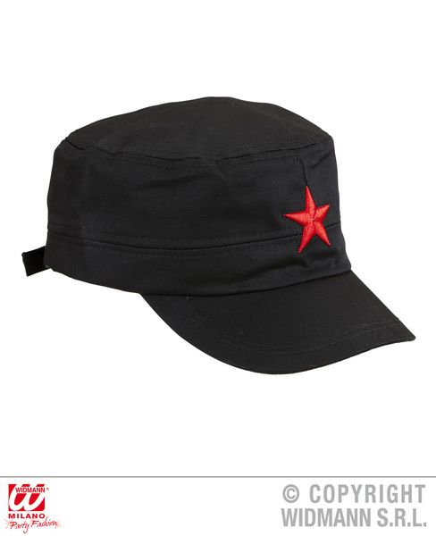 Red Star Cap Hat Space Scifi Christmas Nativity Fancy Dress