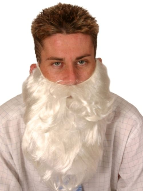 Santa Beard 36cm Christmas Festive Seasonal Holidays