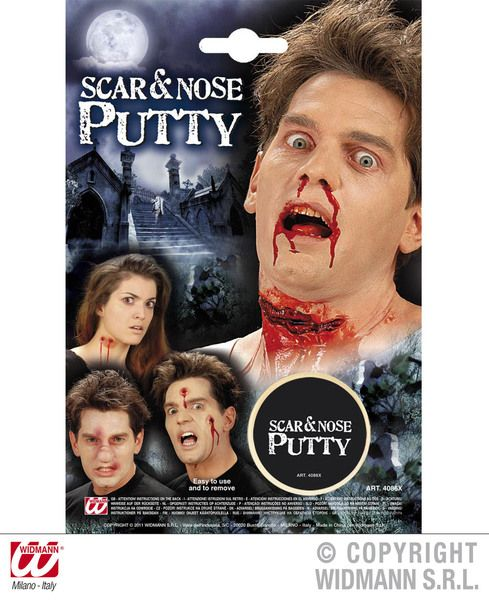 Scar Nose Putty Fancy Dress Cosmetic SFX Makeup