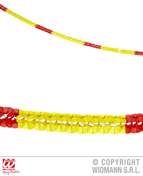 Spain Boa Garlands 3 M Set Of 2 Latin American Mexican Spanish Fancy Dress Party