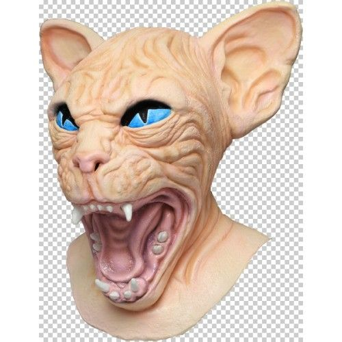 Sphynx Cat Mask Pussy Pet Animal Feline Witch