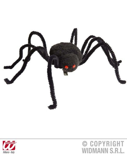Spider Hairclips Halloween Bug Trick Or Treat Fancy Dress
