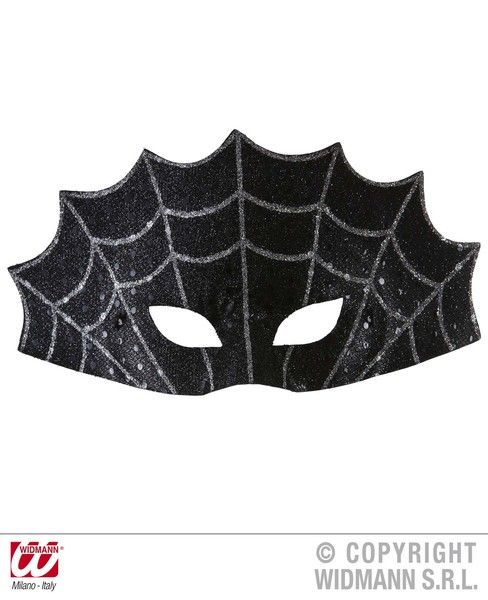 Spiderweb Eyemask Decoration Halloween Trick Or Treat Spooky Party
