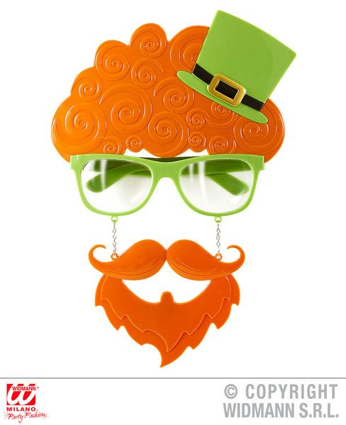 St Patricks Day Glasses for Irish Ireland Euros Photo booth Fancy Dress Accesso