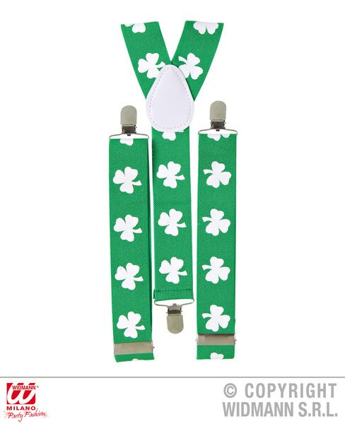 St. Patrick'S Day Shamrock Braces St Patricks Irish Ireland Party