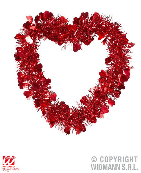 St. Valentine'S Day Tinsel Decoration Saint Valentine'S Day Party