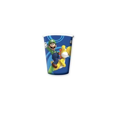 Super Mario Bros.Wii Party Cups - 8 Super hero Superhero