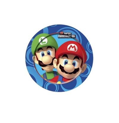 Super Mario Bros.Wii Party Plates - 8 Super hero Superhero