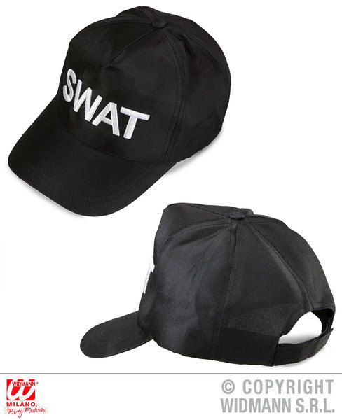 Swat Cap Hat Cop Policeman Police Military Uniform Fancy Dress