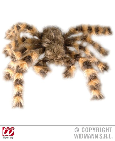 Tarantula Furry 65cm Bendable Decoration Animals Bugs Spiders Party