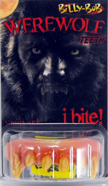 Teeth Billy Bob Werewolf Teeth New Teenwolf Ween Wolf Animal Halloween Beast