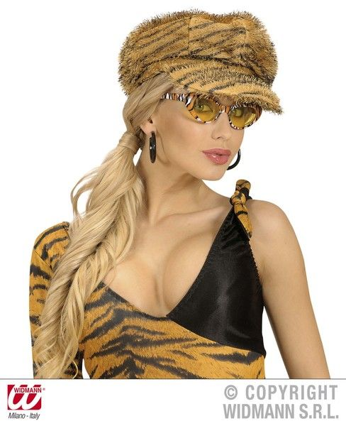 Tiger Cap Hat Twd Animal Ezekiel Jungle Animal Cat Fancy Dress