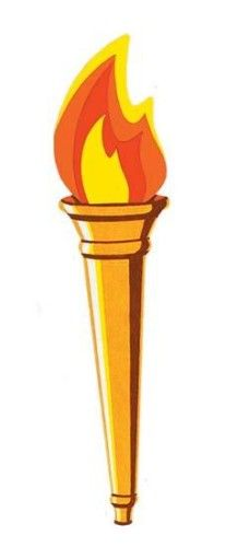 Torch Cutout Party Decoration