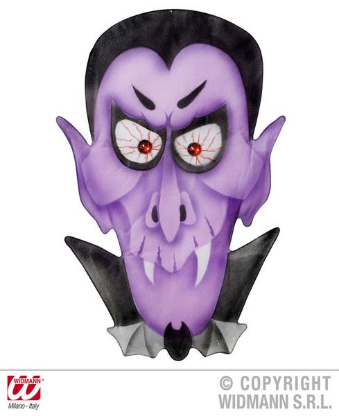 Vampire Wall S 36X57cm Decoration Halloween Dracula Vamp Party