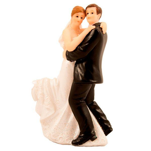Wedding Figure Classic Couple Dancing Disco Rock Pop 70s 80s 90s